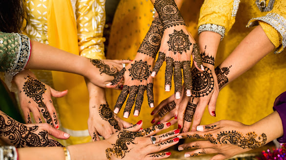Beautiful Henna On Hands