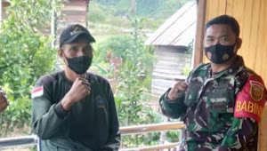 Serda Edi Mulyanto Menghimbau Warga Ikut Berpartisipasi Mencegah Penularan Virus Covid-19
