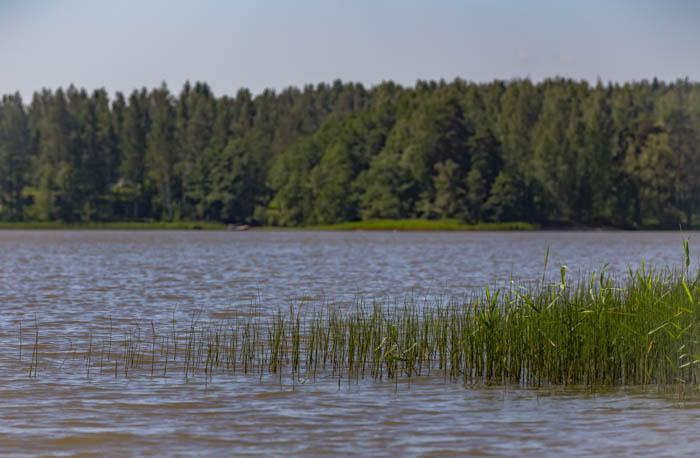 kaunis järvimaisema suomi
