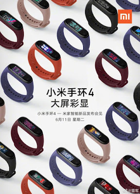 new smartwatch Xiaomi, smartwatch Xiaomi Mi Band 4, Xiaomi Mi Band 4, Mi Band 3, Mi Band 4, Mi Band 4 is part of the rumor, new smartwatch Mi Band 4, tech, tech news, gadgets,