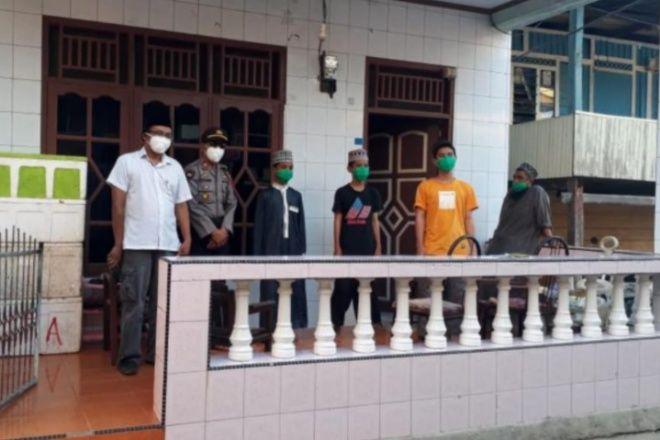 3 Santri Positif Asal Bone Dirujuk ke Makassar Setelah 18 Hari Isolasi