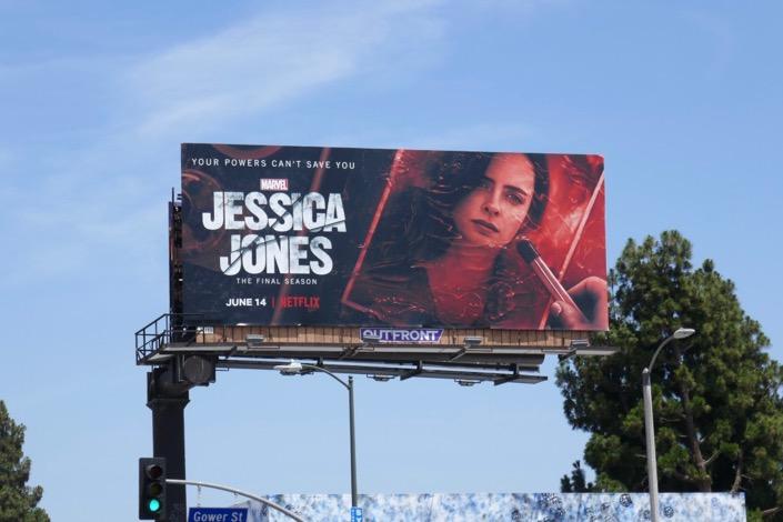Jessica Jones final season billboard