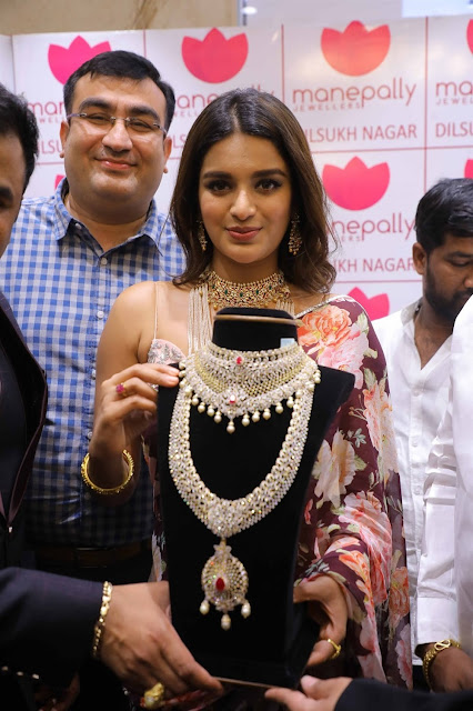Nidhhi Agerwal Diamond Jewellery