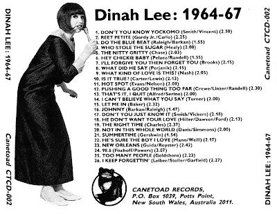 Dinah Lee  - Dinah Lee - 1964-67