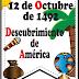 """DESCUBRIMIENTO DE AMERICA """"12 DE OCTUBRE DE 1492"""""""