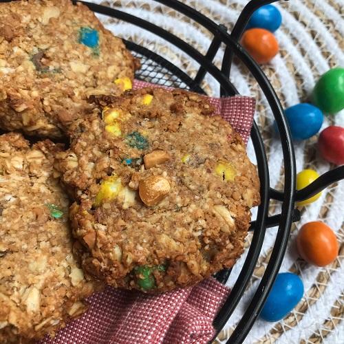 Hafer-Cookies mit Ernußbutter & Banane [eifrei]