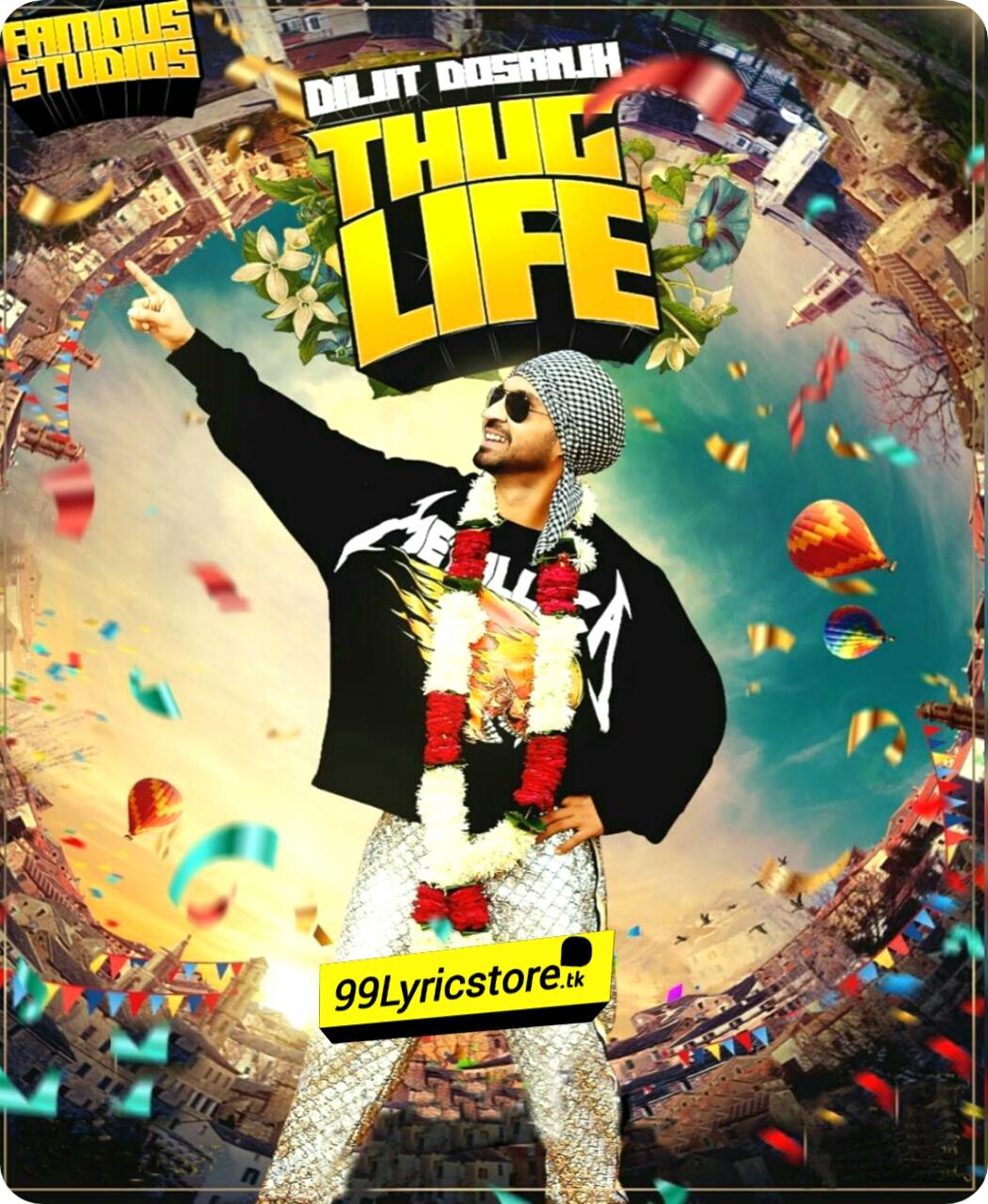 Thug Life Roar Album lyrics,  Diljit Dosanjh New Punjabi Song Lyrics 2018, Diljit Dosanjh Punjabi Song Lyrics, Roar Album Songs Lyrics, Thug Life Song Lyrics, Tere naal Dil la leya Tere shehar naal laiyaan ne garariyaa Lyrics