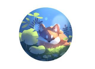 Sleepy Fox Live Wallpaper Paid Apk