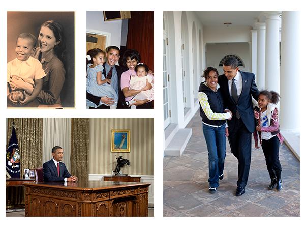Fotos pessoais de Barack Obama inclusas no livro Uma Terra Prometida