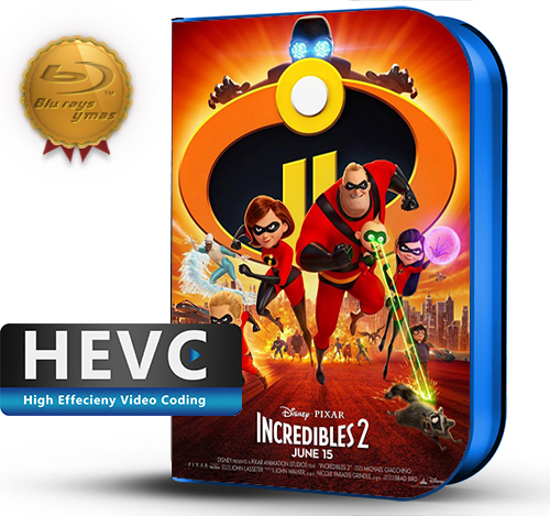 The Incredibles 2 (2018) 1080P HEVC-8Bits BDRip Latino/Ingles(Subt.Esp)(Animación)
