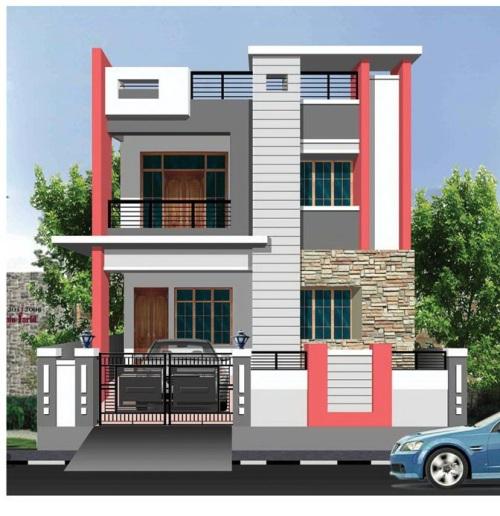 model atap rumah 2 lantai