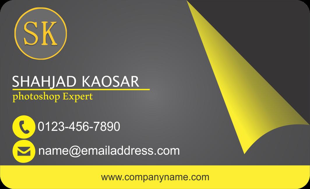 Shahjad kaosar business card design in coreldraw business card design in coreldraw reheart Gallery
