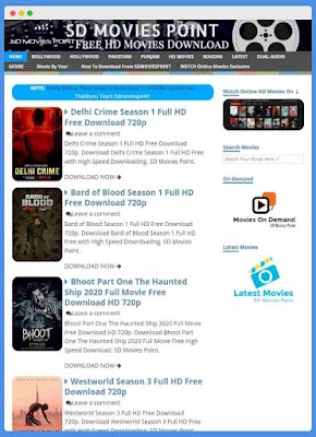 SDMoviesPoint 2020 - Free HD Movies Download