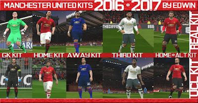 Manchester United kit 2016/17 by Edwin19