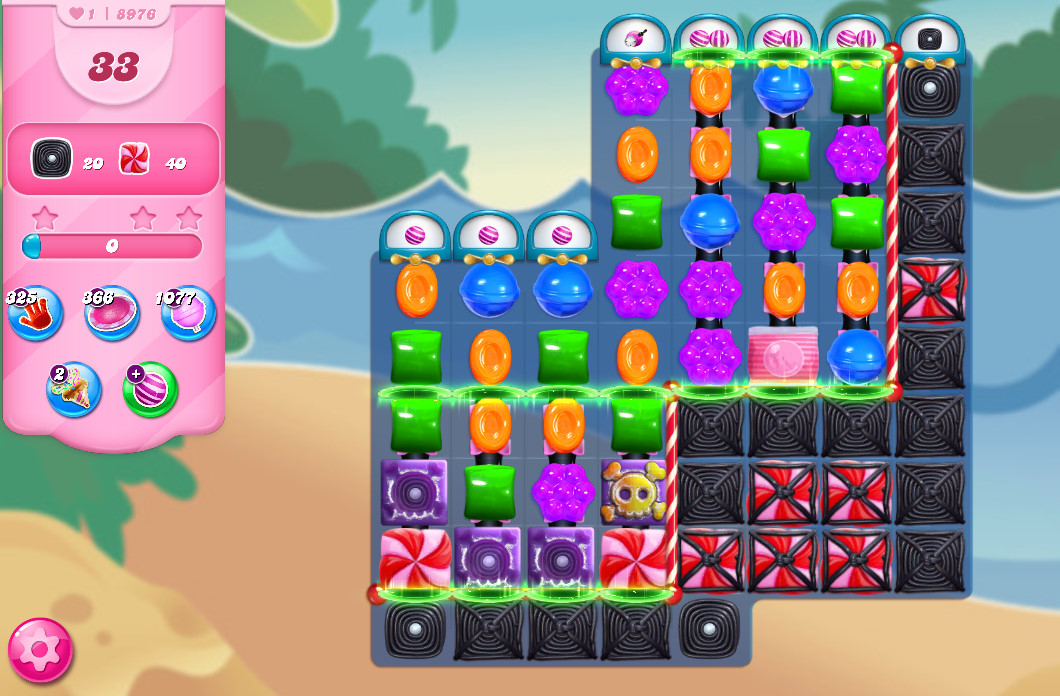Candy Crush Saga level 8976
