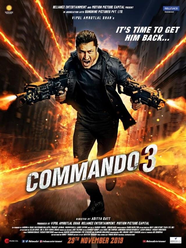 Commando 3: {Cast, Story, Trailer, Budget, Box Office & release date..