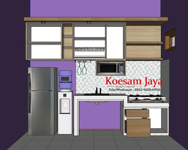 harga kitchen set di solo