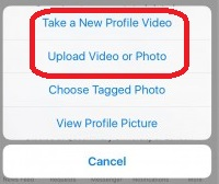 HOW TO : Upload or Change Your Facebook Profile Video