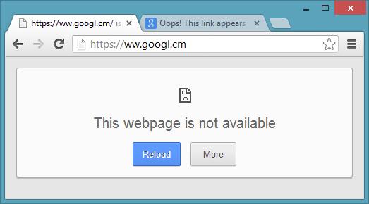حل مشكلة This webpage is not available على متصفح جوجل كروم  This Webpage Is Not Available
