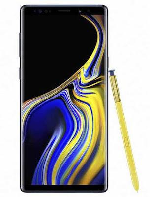 Lupa Pola di Samsung Galaxy Note 9 2018 dengan Metode Hard Reset