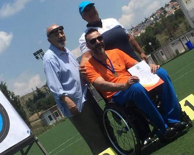 Ο Σύλλογος Ατόμων με Αναπηρίες Νομού Αργολίδας συγχαίρει τον Κώστα Θεμελή