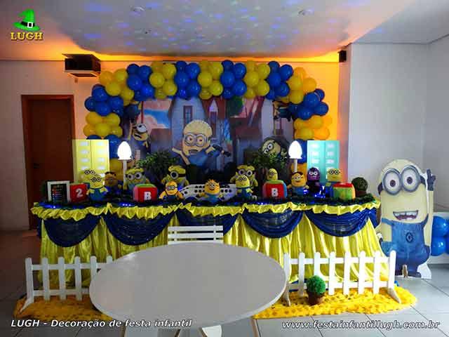 Decoração de festa infantil tema Minions