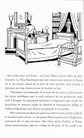 a page from Villa Mauresque showing Maugham in his room