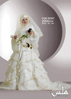 فساتين زفاف للمحجبات , صور فساتين عرس محجبات , فساتين زفاف اسلامية