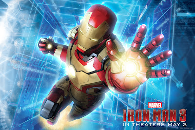 Iron Man 3 - Flying with Energy-ball Throw
