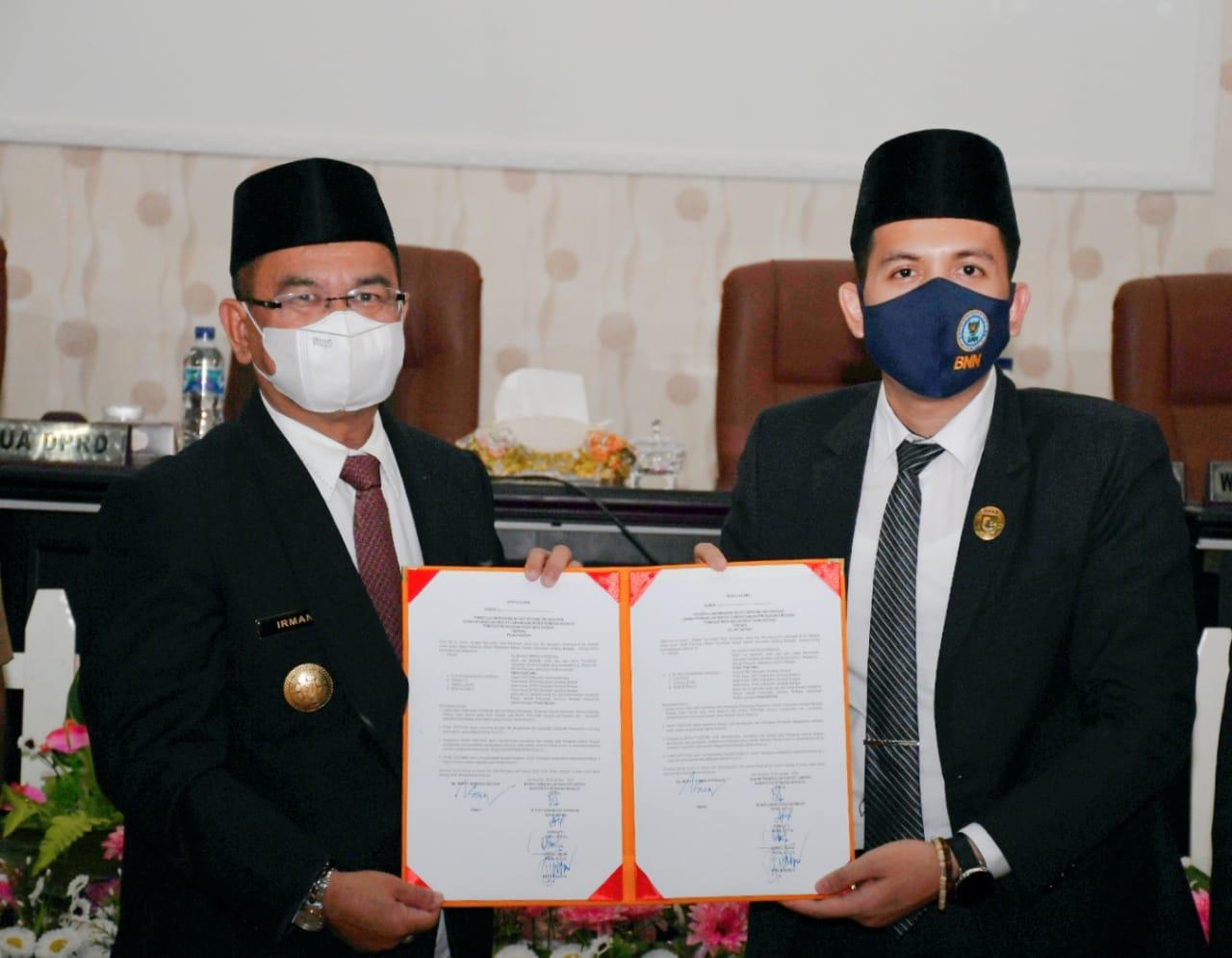 DPRD Sahkan  RAPBD TA 2021 Kabupaten Sergai