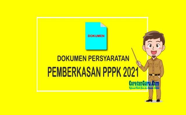 Persyaratan Pemberkasan PPPK Guru 2021