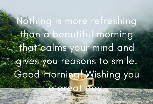 Good Morning Prayers