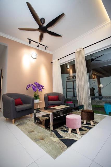 Ruang menunggu Guest House/Homestay 7 Bintang