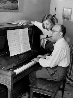 Lotte Lenya and Kurt Weill in 1942