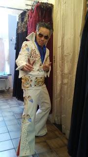 Elvis overal opmaat