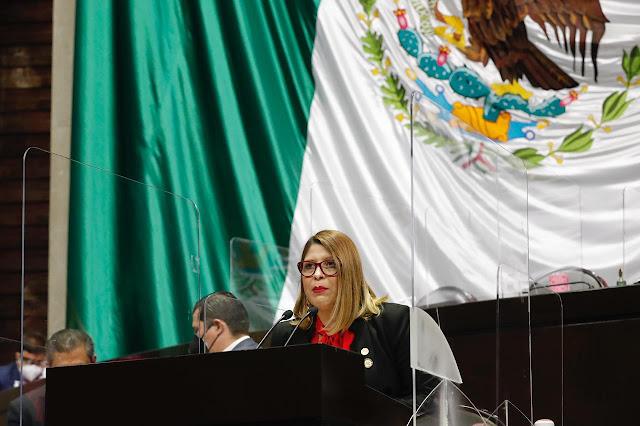 Reforma para reconocer a institutos como parte de las instituciones de educación militar, fortalece a México: Guillermina Alvarado