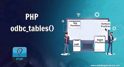 PHP odbc_tables() Function