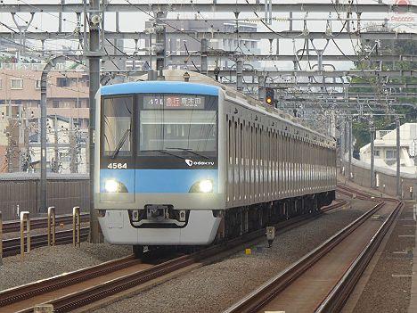 小田急電鉄 急行 唐木田行き3 4000形