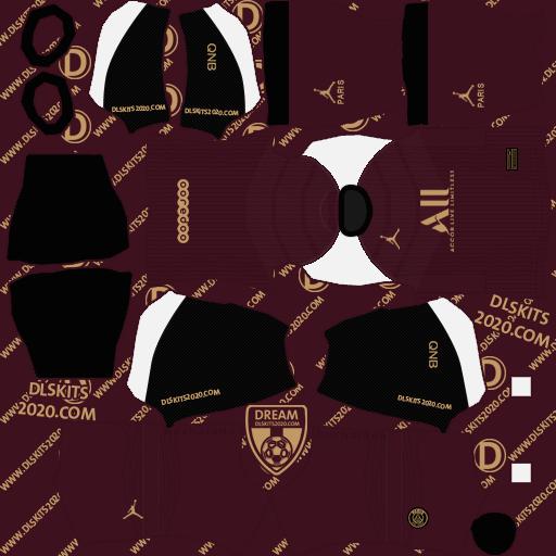Paris Saint-Germain kits 2020-2021 Nike - Kits Dream League Soccer 2020 (Third)