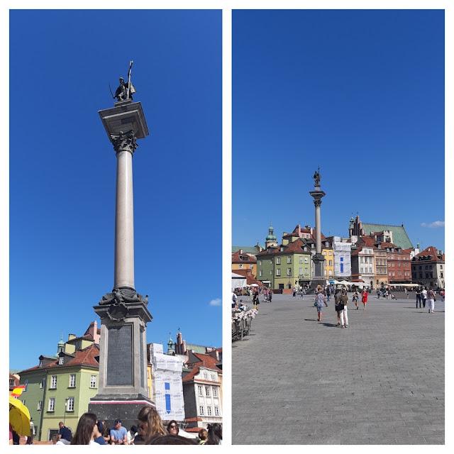 Varsóvia: Segunda Guerra Mundial, o Levante de Varsóvia,  destruição e reconstrução da cidade, entrando para a lista de patrimônios da UNESCO - Coluna de Sigismundo