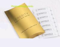 Campioni omaggio Legerity Mini Pochette con fiale Beauty Hair Cream