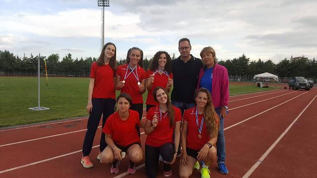 """Από """"ατόφιο χρυσάφι"""" η ομάδα του ΣΔΥ Αργολίδας στο Παμπελοποννησιακό Πρωτάθλημα στίβου !"""