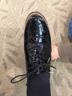 Black Patent Brogue