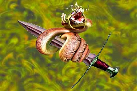 A Espada e a serpente
