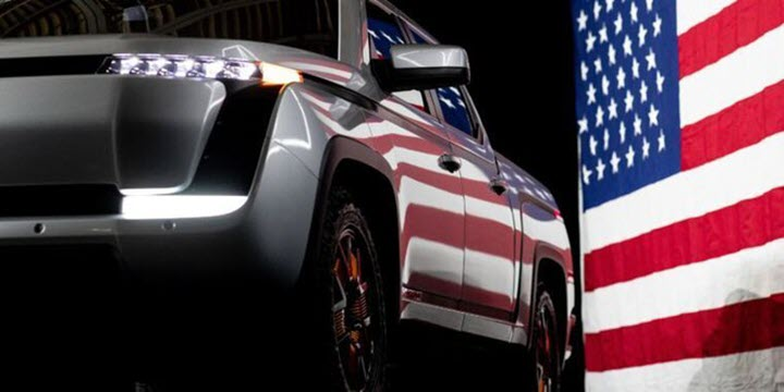 Lordstown Endurance - đối thủ mới của Tesla Cybertruck