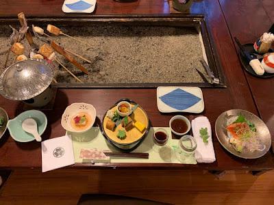 平の高房 夕食