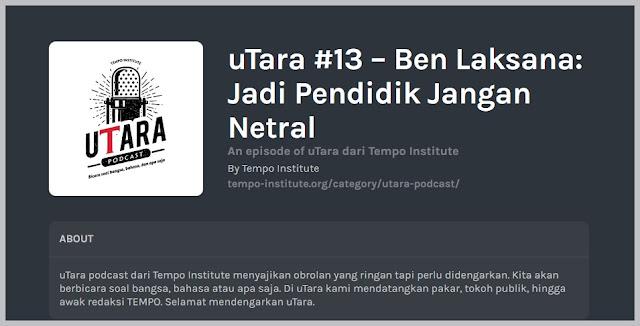 uTara podcast