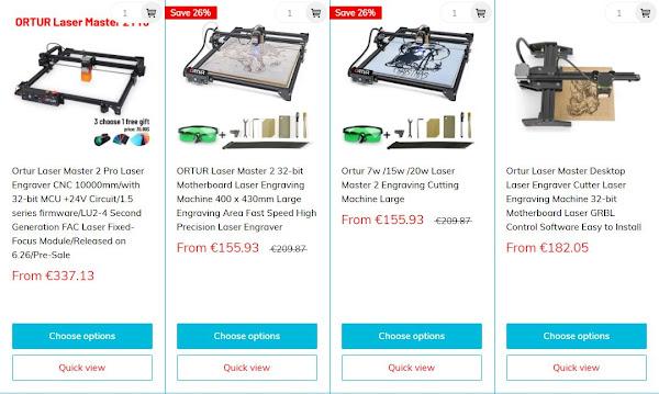 Madethebest - Uma loja online de Máquinas e Impressoras 3D