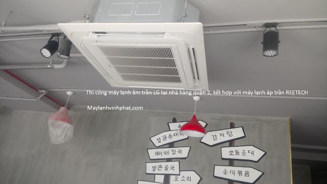 Bán dòng Máy lạnh âm trần LG ATNQ30GNLE7 giá tốt nhất tại Đl vĩnh phát - 289150