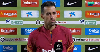 Busquets worried about Barcelona and Spain tight, tense schedule in one month